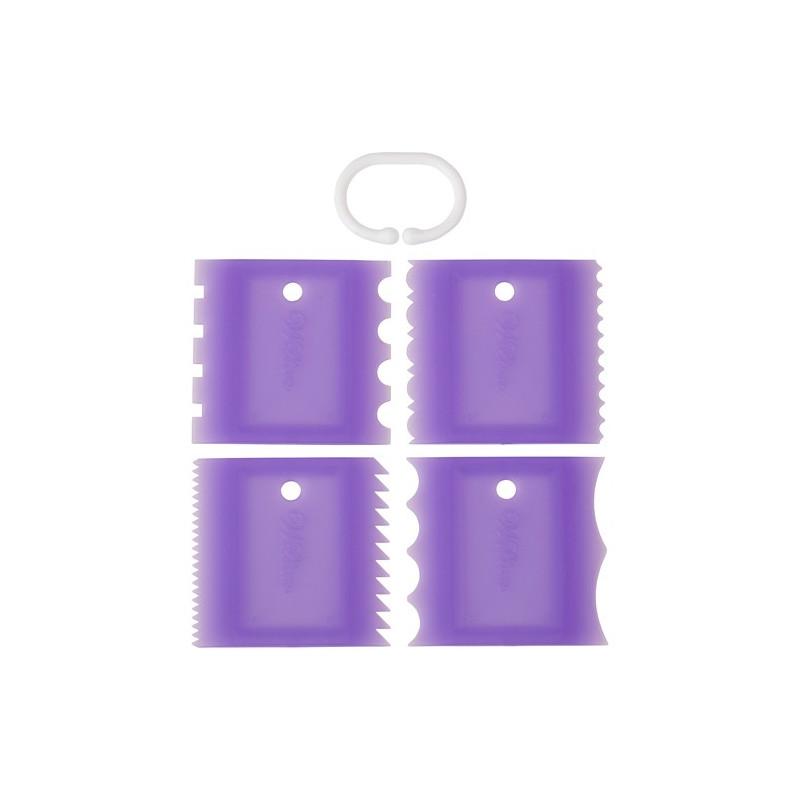 Wilton Icing Comb Set, texturkammar
