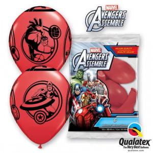 Ballonger Avengers Assemble, röda
