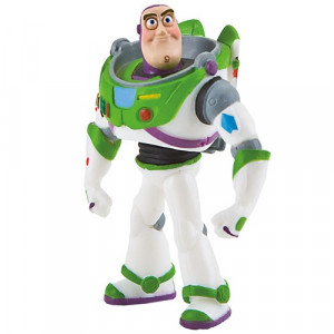 Disney Tårtdekoration i plast, Buzz Lightyear