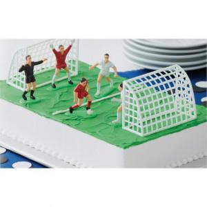 Fotbollsspelare och fotbollsmål till Tårta - Wilton