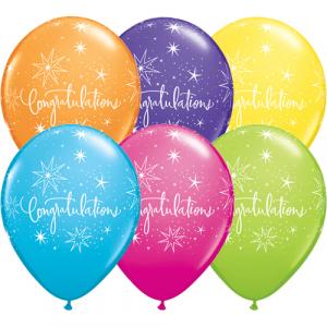 Qualatex Ballonger Tropical, Congratulations