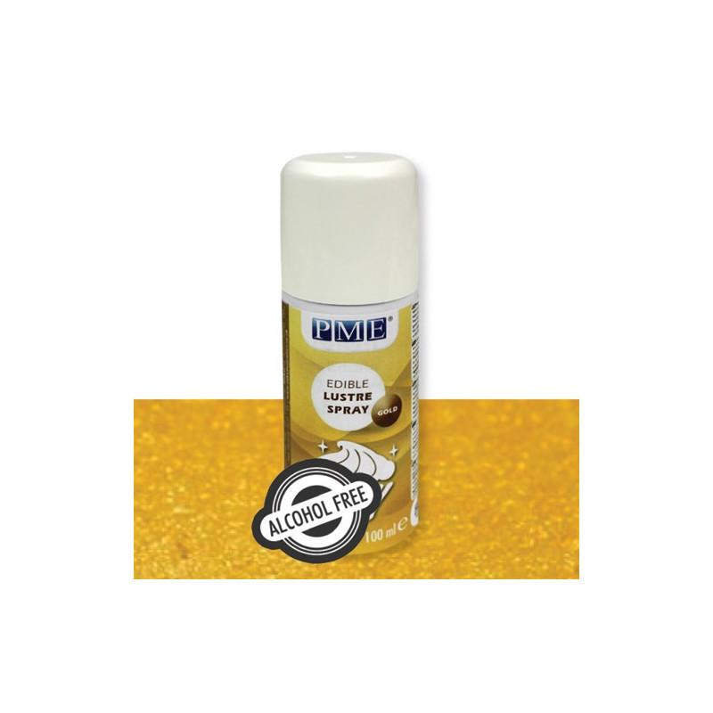 PME Lustre Spray Alkoholfri, Guld