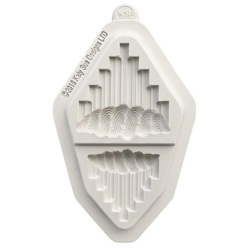 Katy Sue Designs Silikonform Serrated V's
