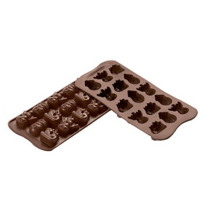 Silikomart Pralinform Choco Winter, silikon