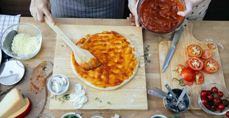 Recept och tips egen Pizza