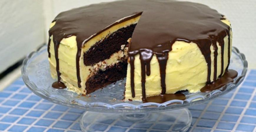Amerikansk chokladtårta