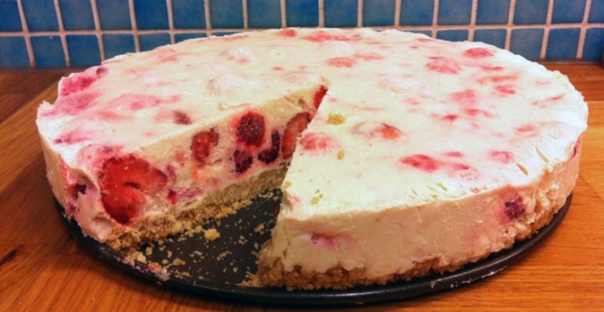 Glasstårta / Cheesecake