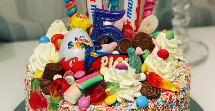 Godistårtor - Tårtor med godis