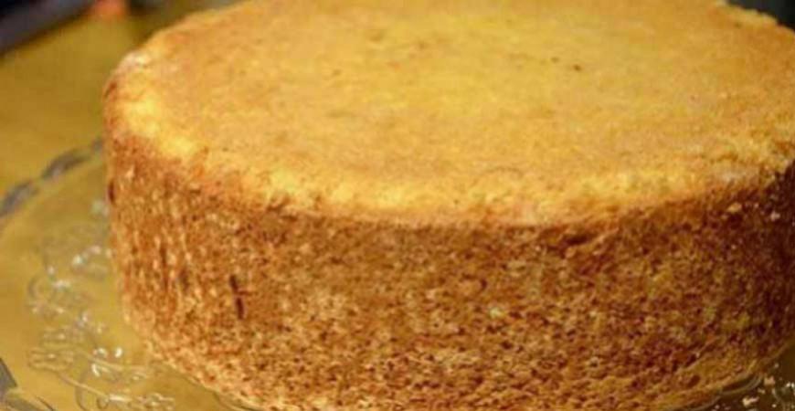 Tårtbotten - Recept