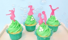 Fem cupcakes inspirerade av våren