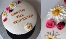4 Tårtor till Studenten