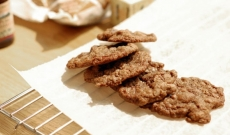 Chocolate chip cookies med vanilj och pekannötter