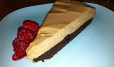 Chokladmousse-kladdkaka