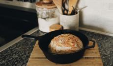 Bröd i Gjutjärnsgryta