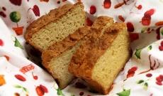 Knådfritt bröd med Västerbottenost