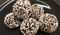 Chokladbollar med Daim