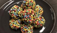 Chokladbollar med nougat