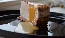 Frusen banancheesecake