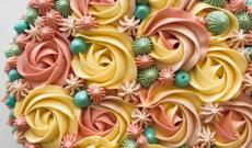Spritsade tårtor