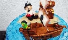Pirat- och Sjörövartårtor