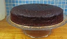 Chokladtårtbotten - Tårtbotten med choklad