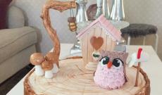 Uggletårtor - Tårtor med Ugglor