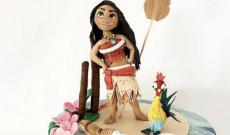 Vaianatårtor - Tårtor med Disney's Vaiana / Moana