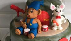 Bamsetårtor - Tårtor med Bamse