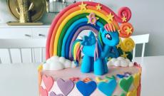 MLP tårta - Tårtor med My Little Pony