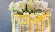 Gula Tårtor - Tårtor med gula detaljer