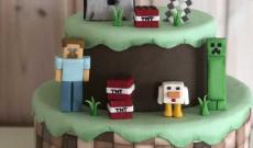 Minecraft-tårtor