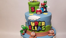 Super Mario - Tårtor med Super Mario
