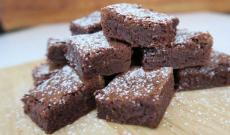 Lyckas med Brownie och kladdkaka
