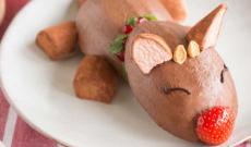 Baka söta muffins-renar