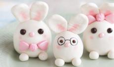 Marsipanfigurer - Kaniner