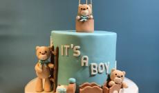 Babytårtor - Blå