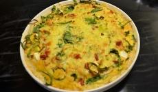 Grönsakspaj med fetaost