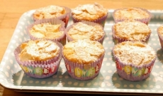 Apelsin- och mandelmuffins