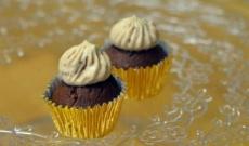 Minimuffins med daimfluff